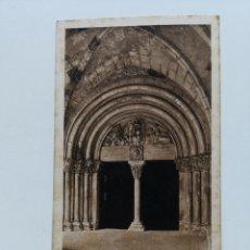 Postales: POSTAL DE TARRAGONA Nº14 PORTA ROMÁNICA DEL CLAUSTRE. ARXIU TAU TARRAGONA. HUECOGRABADO MUMBRÚ. Lote 195283306