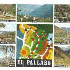 Postales: PIR. CATALA. EL PALLARS.- Nº 181, DIFERENTS ASPECTES. LÉRIDA- SIN CIRCULAR. Lote 195300075