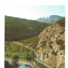Postales: LA POBLA DE SEGUR.- EL PALLARS. PAS DELS COLLEGATS. EDICIONES SICILIA. LÉRIDA- SIN CIRCULAR. Lote 195303388