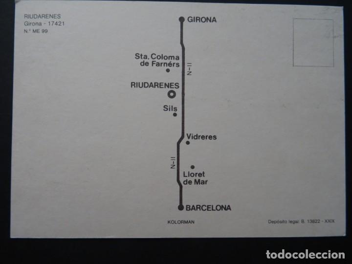 Postales: Riudarenes (Girona), antigua postal sin circular - Foto 2 - 195327672