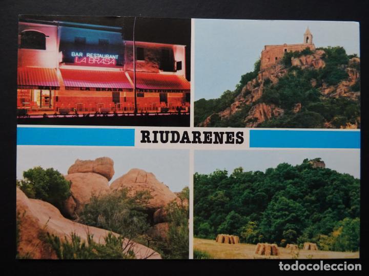 RIUDARENES (GIRONA), ANTIGUA POSTAL SIN CIRCULAR (Postales - España - Cataluña Moderna (desde 1940))