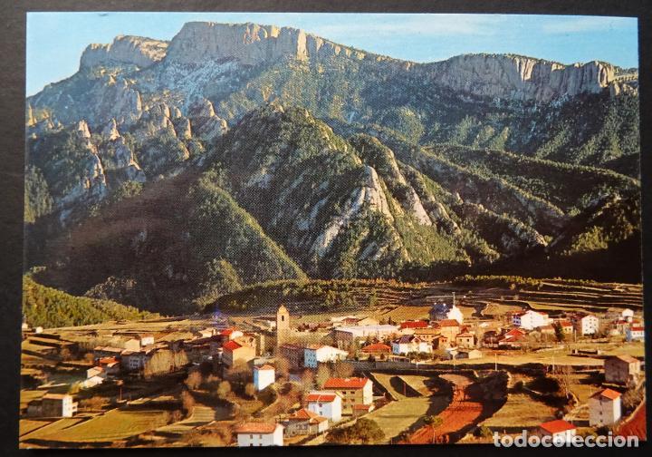 SANT LLORENÇ DE MORUNYS, VISTA GENERAL, ANTIGUA POSTAL SIN CIRCULAR (Postales - España - Cataluña Moderna (desde 1940))