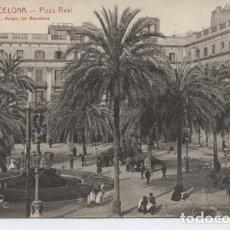Postales: BARCELONA. PLAZA REAL ... SIN CIRCULAR. Lote 195328988