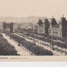 Postales: BARCELONA. SALON DE SAN JUAN. ARCO DE TRIUNFO ... 1 ESQUINA CON DOBLEZ. Lote 195329720
