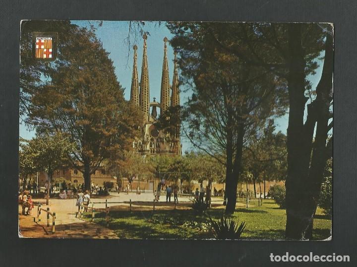 POSTAL CIRCULADA - BARCELONA 18 - EDITA ESCUDO DE ORO (Postales - España - Cataluña Moderna (desde 1940))