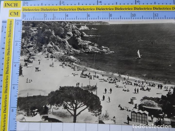 POSTAL DE GERONA. AÑOS 30 50. BLANES PLAYA DE SAN FRANCISCO. 262 ROMANÍ. 133 (Postales - España - Cataluña Antigua (hasta 1939))