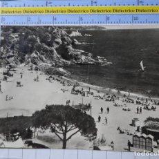 Postales: POSTAL DE GERONA. AÑOS 30 50. BLANES PLAYA DE SAN FRANCISCO. 262 ROMANÍ. 133. Lote 195343725