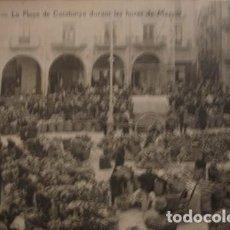 Postales: FIGUERAS LA PLAÇA CATALUNYA DURANT LES HORES DE MERCAT - PORTAL DEL COL·LECCIONISTA . Lote 195368243