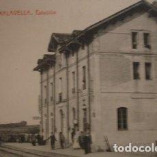 Postales: CALDAS DE MALAVELLA ESTACION - PORTAL DEL COL·LECCIONISTA . Lote 195368527