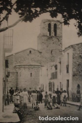 CALDAS DE MALAVELLA CALLE Y ABSIDE DE LA IGLESIA - PORTAL DEL COL·LECCIONISTA (Postales - España - Cataluña Antigua (hasta 1939))