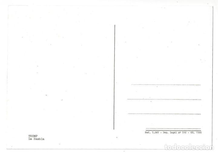 Postales: TREMP.- LA RAMBLA. ANIMADA. COCHE ANTIGUO. SEAT 600. LÉRIDA- SIN CIRCULAR (AÑOS 60) - Foto 2 - 195369335
