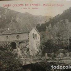 Postales: SANTA COLOMA DE FARNÉS - MOLINO DEL BARGIS - L. ROISIN - PORTAL DEL COL·LECCIONISTA . Lote 195369712