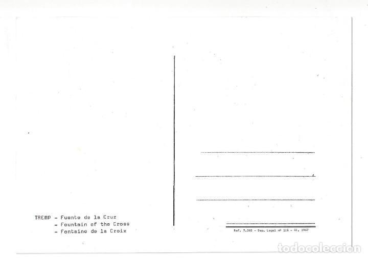 Postales: TREMP.- FUENTE DE LA CRUZ. CARRER SAN MIGUEL. LÉRIDA- SIN CIRCULAR (AÑOS 60) - Foto 2 - 195369827