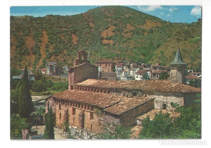 PIR. CENTRAL. GERRI DE LA SAL.- Nº L 3827, MONESTIR. VISTA GENERAL. LÉRIDA- SIN CIRCULAR (Postales - España - Cataluña Moderna (desde 1940))