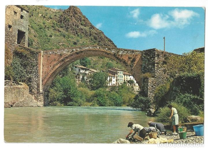 Postales: LOTE DE 3 POSTALES- EL PALLARS.- GERRI DE LA SAL. OF. TUR. POBLA DE SEGUR- LÉRIDA - Foto 4 - 195371297