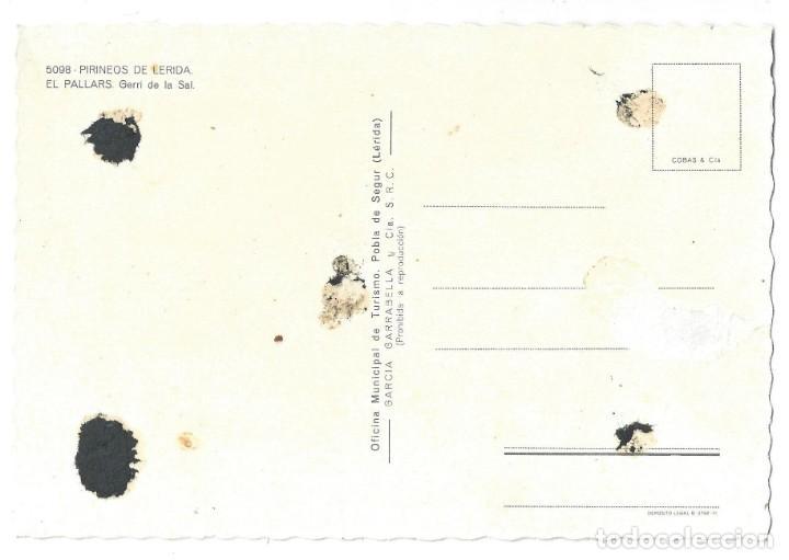 Postales: LOTE DE 3 POSTALES- EL PALLARS.- GERRI DE LA SAL. OF. TUR. POBLA DE SEGUR- LÉRIDA - Foto 7 - 195371297