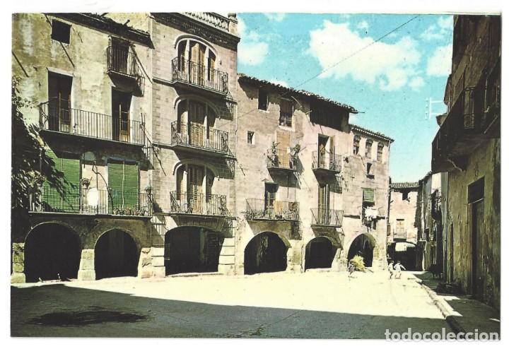 ARTESA DE SEGRE.- PLAZA MAYOR. ANIMADA. LÉRIDA- SIN CIRCULAR (AÑOS 60) (Postales - España - Cataluña Moderna (desde 1940))