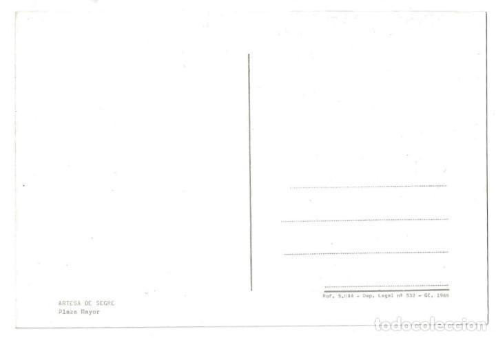 Postales: ARTESA DE SEGRE.- PLAZA MAYOR. ANIMADA. LÉRIDA- SIN CIRCULAR (AÑOS 60) - Foto 2 - 195371810