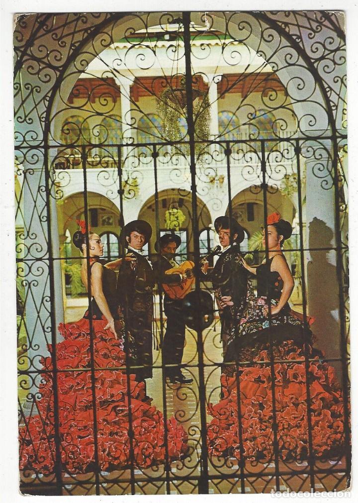 1025 - NIGHT CLUB EL RELICARIO.- DETALLE DEL INTERIOR CON EL BALLET ESPAÑOL LOS FLAMENCOS (Postales - España - Cataluña Antigua (hasta 1939))