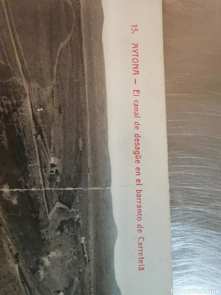 Postales: Postal de Aytona, Canal de desagüe en el barranco de carretelá. Colección Urriza Lérida - Foto 2 - 195385625