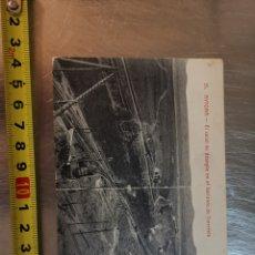 Postales: POSTAL DE AYTONA, CANAL DE DESAGÜE EN EL BARRANCO DE CARRETELÁ. COLECCIÓN URRIZA LÉRIDA. Lote 195385625
