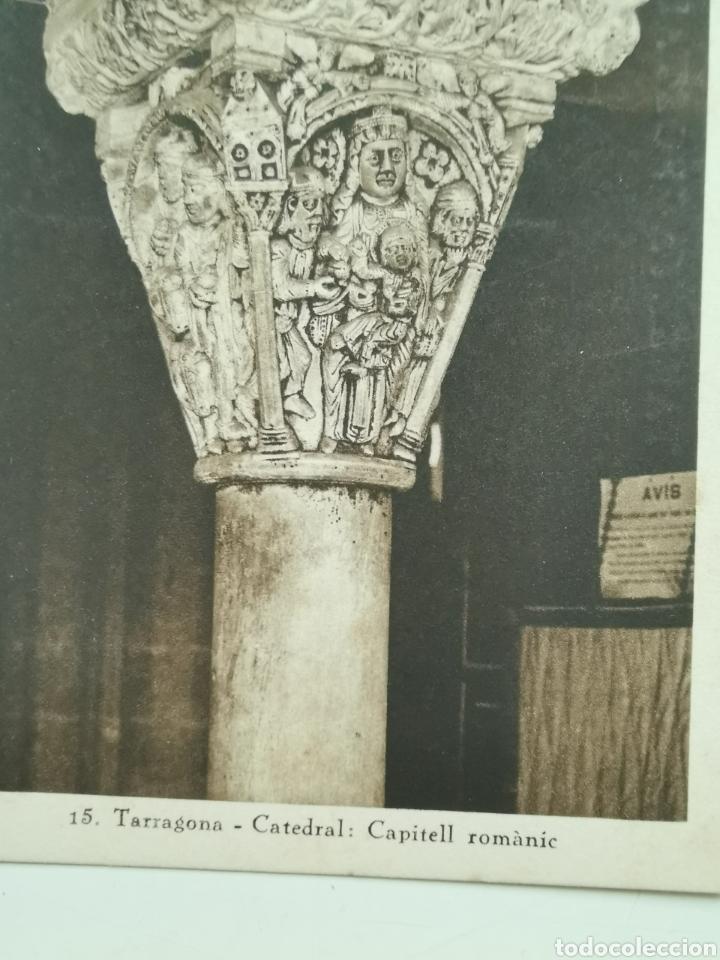 Postales: Postal de Tarragona nº15 Catedral, Capitell romànic - Foto 2 - 195389700