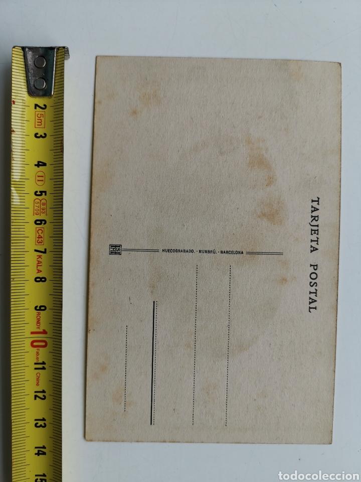 Postales: Postal de Tarragona nº12 Catedral. Capilla de la Inmaculada. Huecograbado Mumbrú. Archivo Tau. - Foto 2 - 195391470