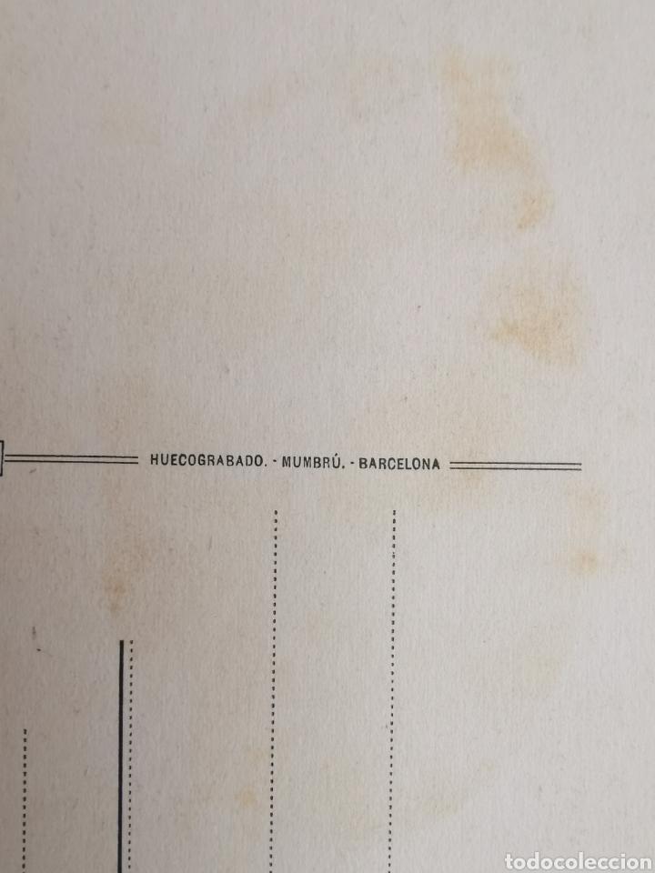 Postales: Postal de Tarragona nº12 Catedral. Capilla de la Inmaculada. Huecograbado Mumbrú. Archivo Tau. - Foto 3 - 195391470