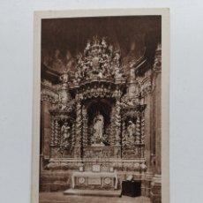Postales: POSTAL DE TARRAGONA Nº12 CATEDRAL. CAPILLA DE LA INMACULADA. HUECOGRABADO MUMBRÚ. ARCHIVO TAU.. Lote 195391470