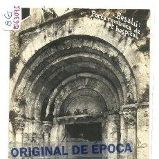 Postales: (PS-63095)POSTAL FOTOGRAFICA DE BESALU-PORTA ROMANICA DE L´HOSPITAL.V.FARGNOLI. Lote 195392833