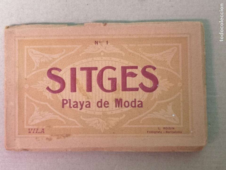 Postales: SITGES PLAYA DE MODA ROISIN BLANCO Y NEGRO - Foto 2 - 195399105