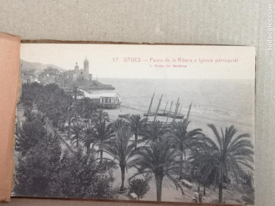 Postales: SITGES PLAYA DE MODA ROISIN BLANCO Y NEGRO - Foto 3 - 195399105