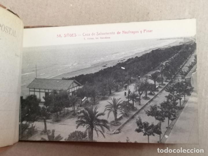 Postales: SITGES PLAYA DE MODA ROISIN BLANCO Y NEGRO - Foto 4 - 195399105