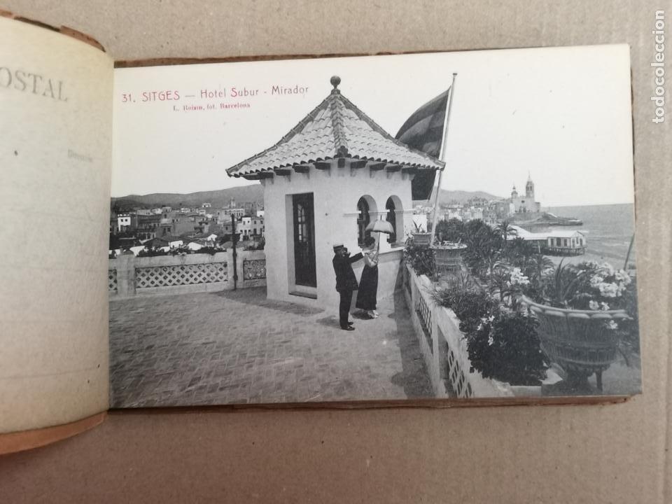 Postales: SITGES PLAYA DE MODA ROISIN BLANCO Y NEGRO - Foto 5 - 195399105