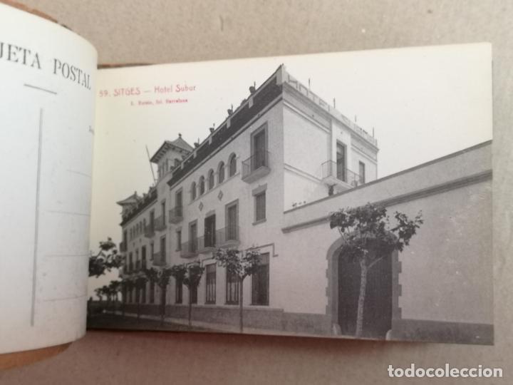 Postales: SITGES PLAYA DE MODA ROISIN BLANCO Y NEGRO - Foto 6 - 195399105