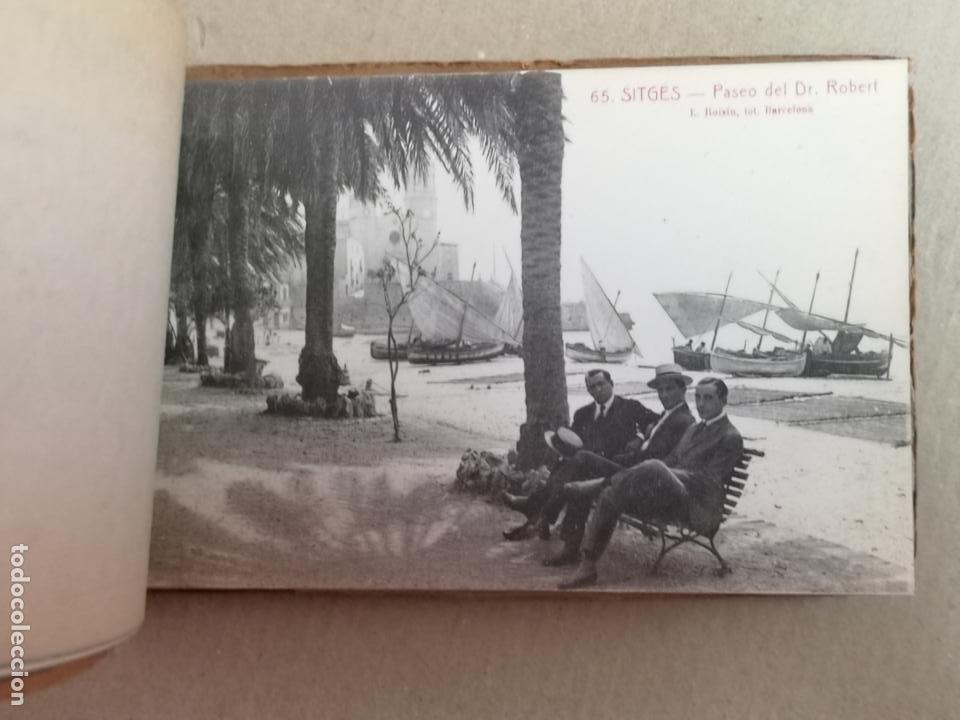 Postales: SITGES PLAYA DE MODA ROISIN BLANCO Y NEGRO - Foto 11 - 195399105