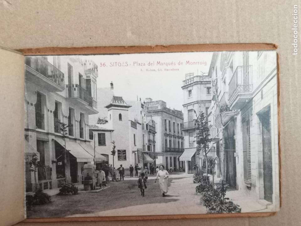 Postales: SITGES PLAYA DE MODA ROISIN BLANCO Y NEGRO - Foto 13 - 195399105