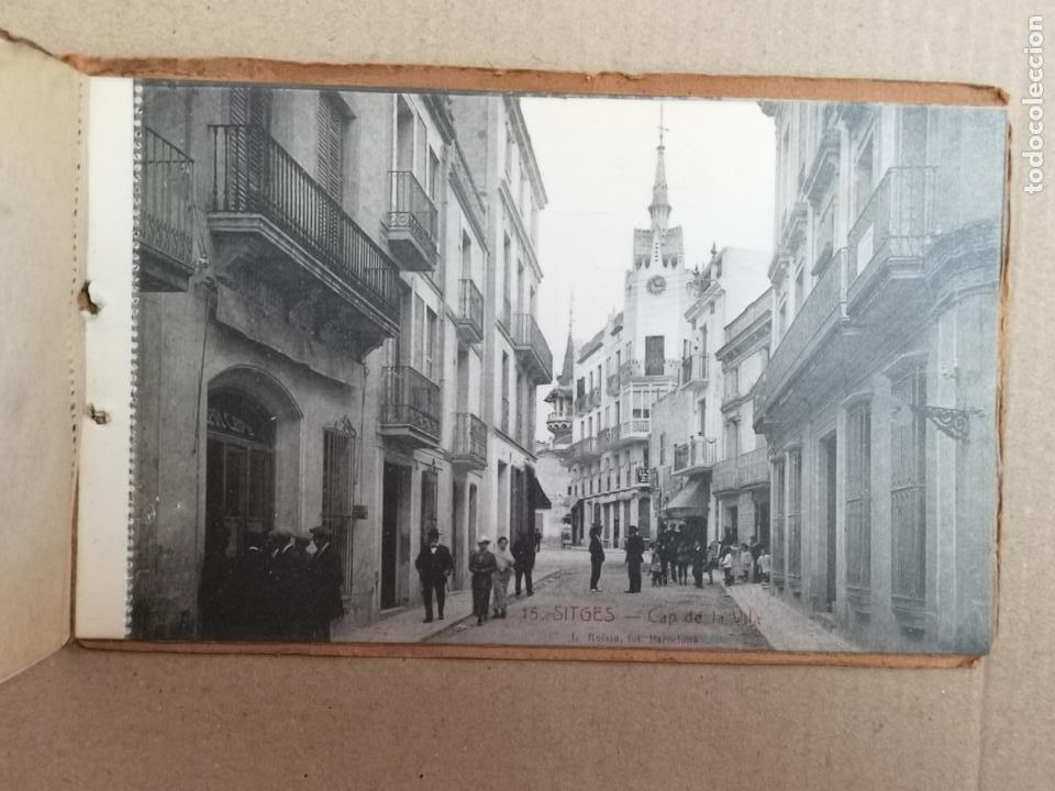 Postales: SITGES PLAYA DE MODA ROISIN BLANCO Y NEGRO - Foto 14 - 195399105