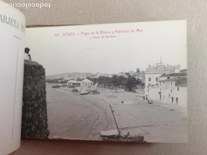 Postales: SITGES PLAYA DE MODA ROISIN BLANCO Y NEGRO - Foto 15 - 195399105