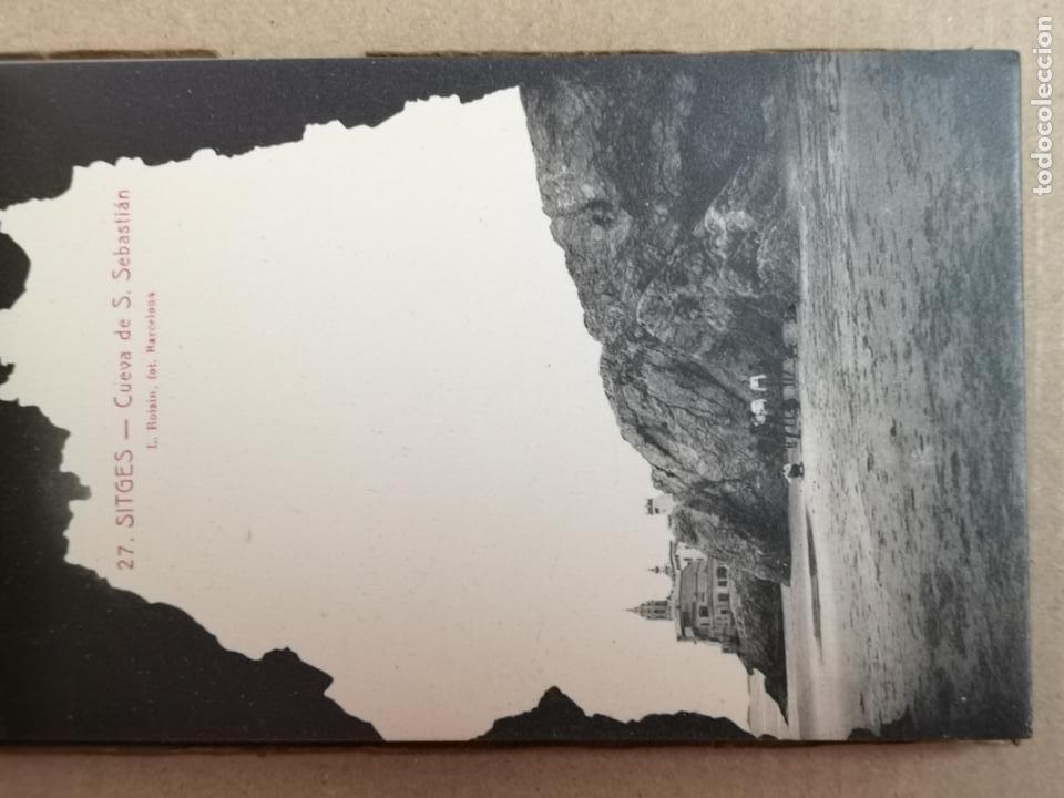 Postales: SITGES PLAYA DE MODA ROISIN BLANCO Y NEGRO - Foto 25 - 195399105
