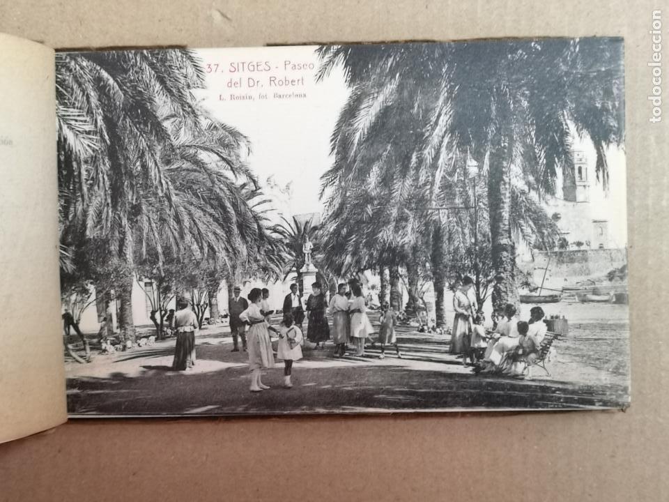 Postales: SITGES PLAYA DE MODA ROISIN BLANCO Y NEGRO - Foto 27 - 195399105