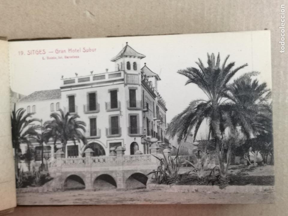 Postales: SITGES PLAYA DE MODA ROISIN BLANCO Y NEGRO - Foto 28 - 195399105