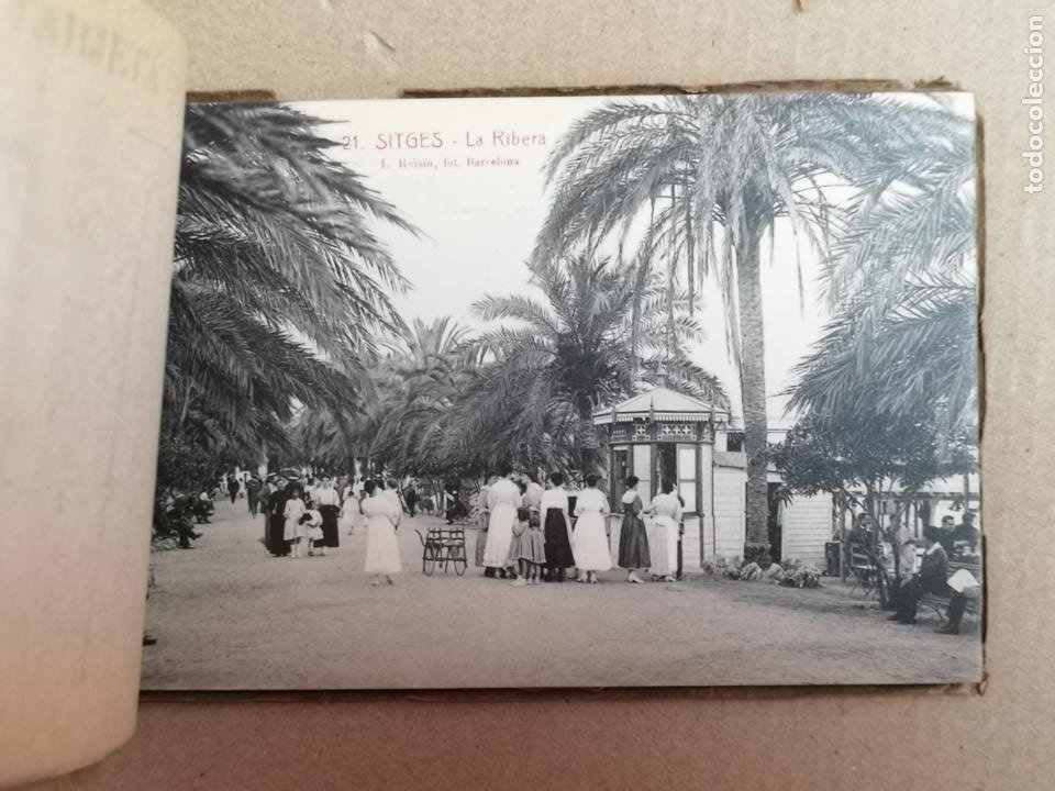 Postales: SITGES PLAYA DE MODA ROISIN BLANCO Y NEGRO - Foto 31 - 195399105