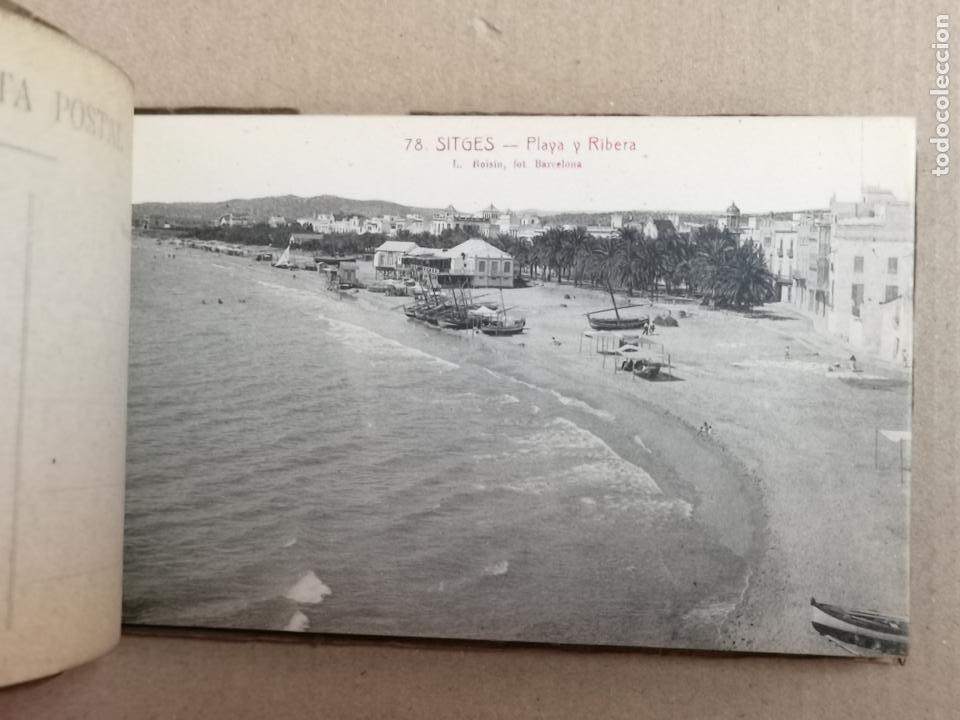 Postales: SITGES PLAYA DE MODA ROISIN BLANCO Y NEGRO - Foto 32 - 195399105