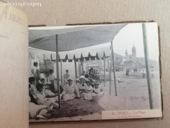 Postales: SITGES PLAYA DE MODA ROISIN BLANCO Y NEGRO - Foto 41 - 195399105
