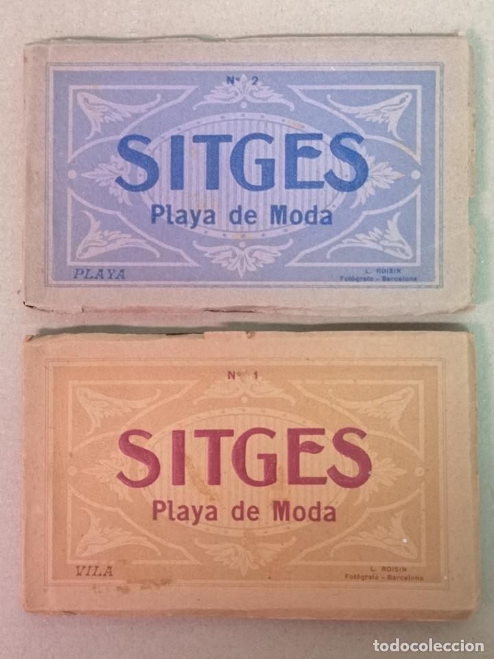 SITGES PLAYA DE MODA ROISIN BLANCO Y NEGRO (Postales - España - Cataluña Antigua (hasta 1939))