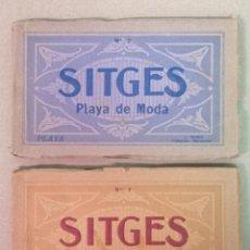 Postales: SITGES PLAYA DE MODA ROISIN BLANCO Y NEGRO. Lote 195399105