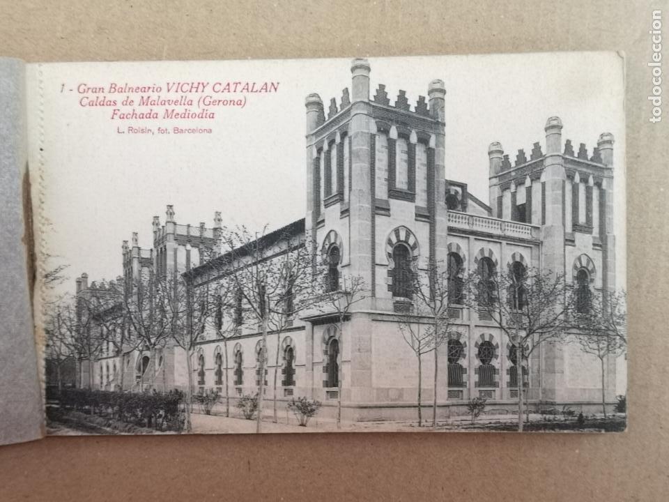Postales: GRAN BALNEARIO VICHY CATALÁN ROISIN BLANCO Y NEGRO - Foto 4 - 195402813