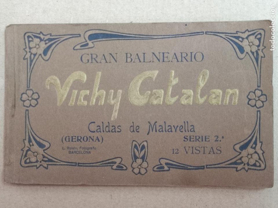 GRAN BALNEARIO VICHY CATALÁN ROISIN BLANCO Y NEGRO (Postales - España - Cataluña Antigua (hasta 1939))