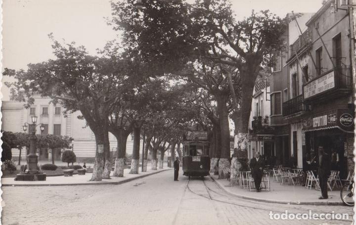 ARGENTONA, AVENIDA DEL CAUDILLO - FOTO GUELL - S/C (Postales - España - Cataluña Moderna (desde 1940))